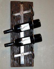 Wijnrek vintage hout sloop