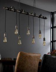 Hanglamp industrieel waterleiding