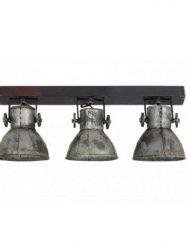 Plafondlamp industrieel met spots