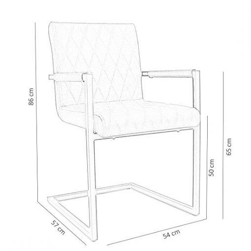 Bagino industriele stoelen