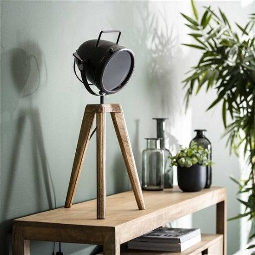 Bureaulamp industrieel zwart