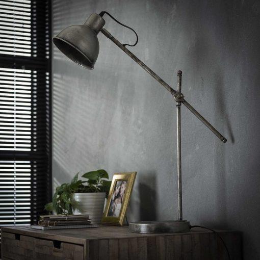 Industriele bureaulamp verstelbaar metaal
