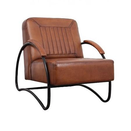 Industriele fauteuil leer