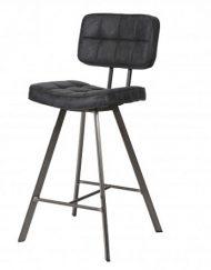Design barkruk zwart