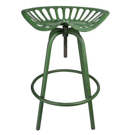 Verstelbare kruk groen