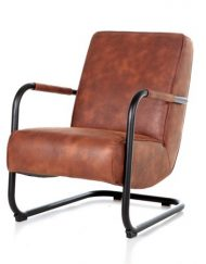 Cognac fauteuil luxe Cherokee
