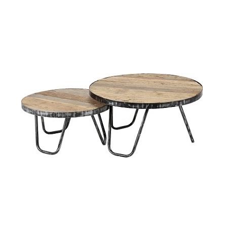 Stoere robuuste salontafel