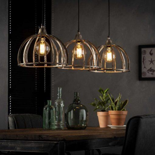 Eettafel lamp industrieel metaal