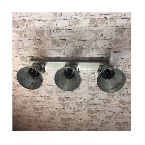 Industriele plafondlamp met spots