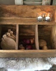 Gruttersbak hout 3 vakken keuken