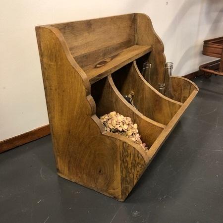 Gruttersbak hout 3 vakken stoer