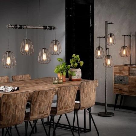 lamp industrieel metaal