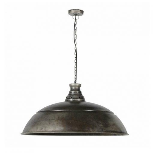 Grote metalen industriële hanglamp