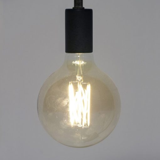 Bolvormige lichtbron amber