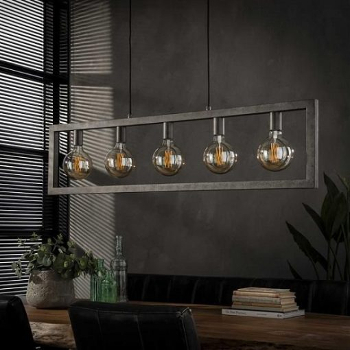 Hanglamp woonkamer rechthoek 5 L