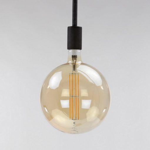 Bolvormige lichtbron Ø 20 cm amber