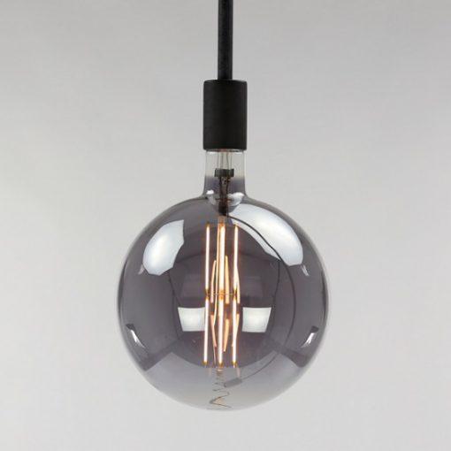 Bolvormige lichtbron Ø 20 cm grijs