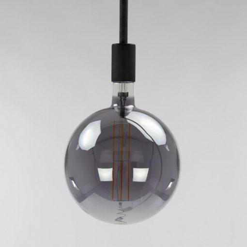 Bolvormige lichtbron Ø 20 cm grijzen