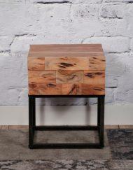 Nachtkastje slaapkamer acacia hout