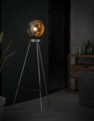 Vloerlamp woonkamer industrieel stoer