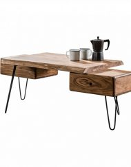 Salontafel boomstam acacia hout