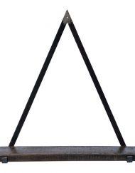 Wandkast industrieel zwart metaal stoer