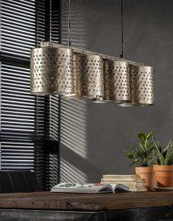 Hanglamp metaal industrieel modern