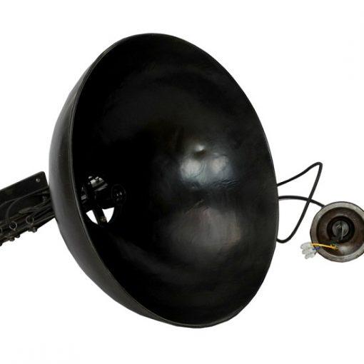 Vintage hanglamp schaarlamp metaal