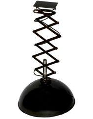 Vintage hanglamp schaarlamp zwart