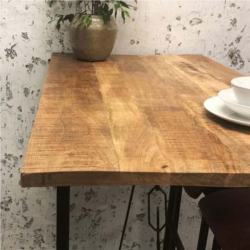 Bartafel hout industrieel woonkamer