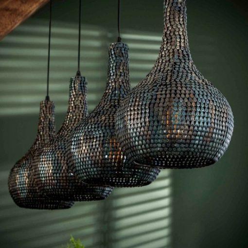 Hanglamp industrieel kegel metalen