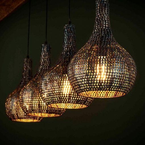Hanglamp industrieel kegel sfeer