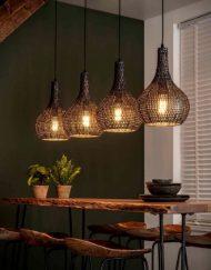 Hanglamp industrieel kegel vormen