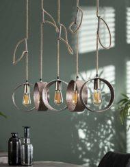 Hanglamp industrieel design ringen