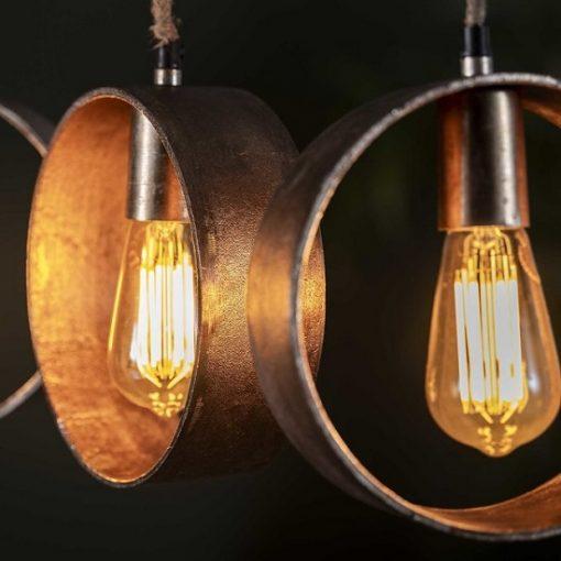Hanglamp industrieel design stoer