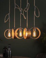 Hanglamp industrieel design wonen