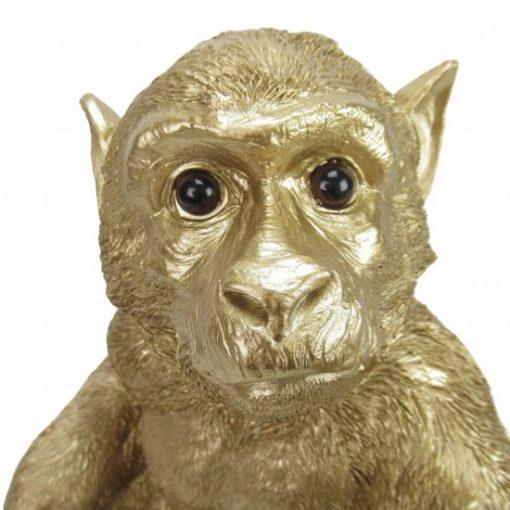 Lamp aap goud gezicht