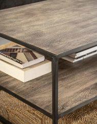 Salontafel acacia hout greywash industrieel