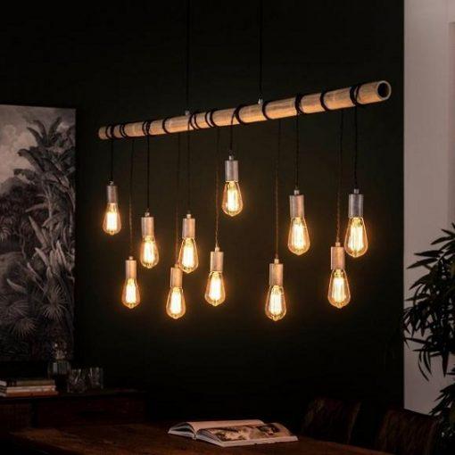 Hanglamp bamboo industrieel design