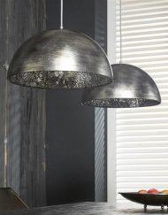 Hanglamp sfeer grote kappen glas
