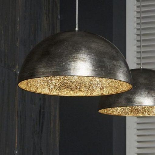 Hanglamp sfeer grote kappen industrieel