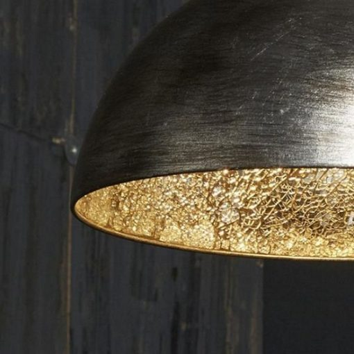 Hanglamp sfeer grote kappen interieur