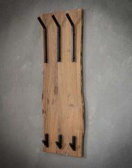 Kapstok hoog robuust hout