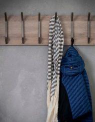 Kapstok hout industrieel garderobe