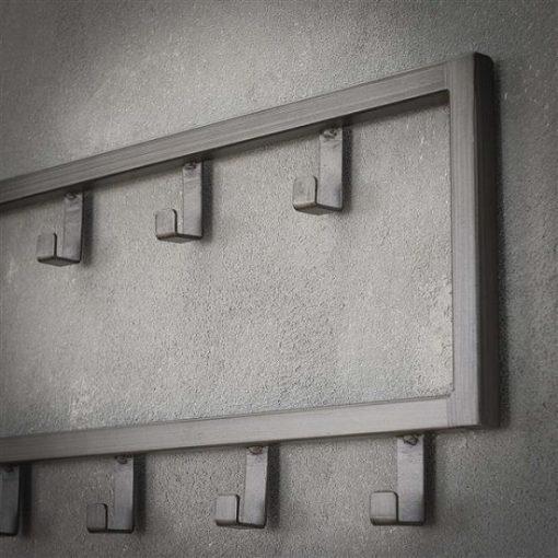 Kapstok vijftien haken interieur