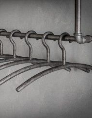 Garderobehangers metaal vintage look