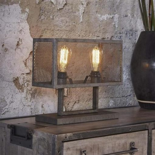 Industrieel tafellamp sfeervol wonen
