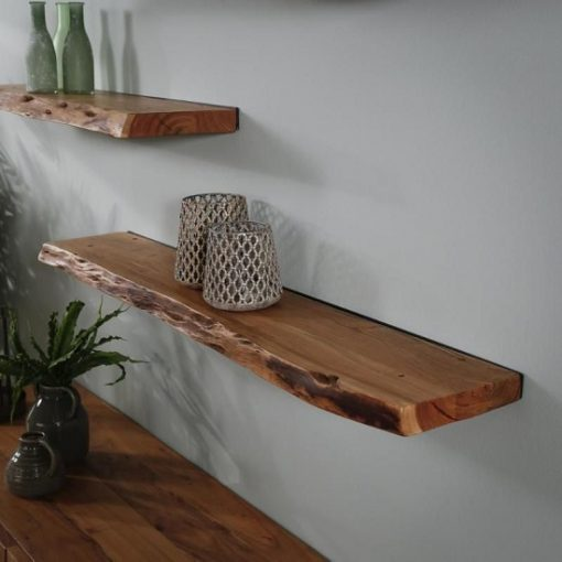 Wandplank acaciahout