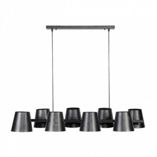 Hanglamp acht kappen landelijk wonen