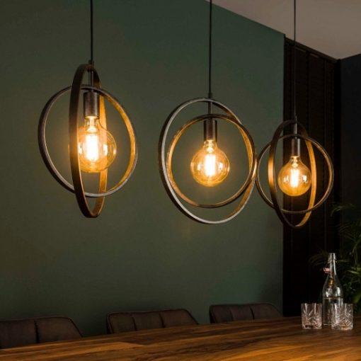 Industrieel hanglamp sfeervol